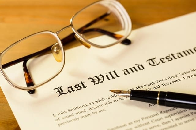 How do I find a Will when someone dies