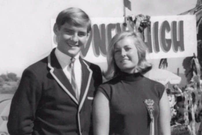 Chris and Lyn Dawson were high school sweethearts.