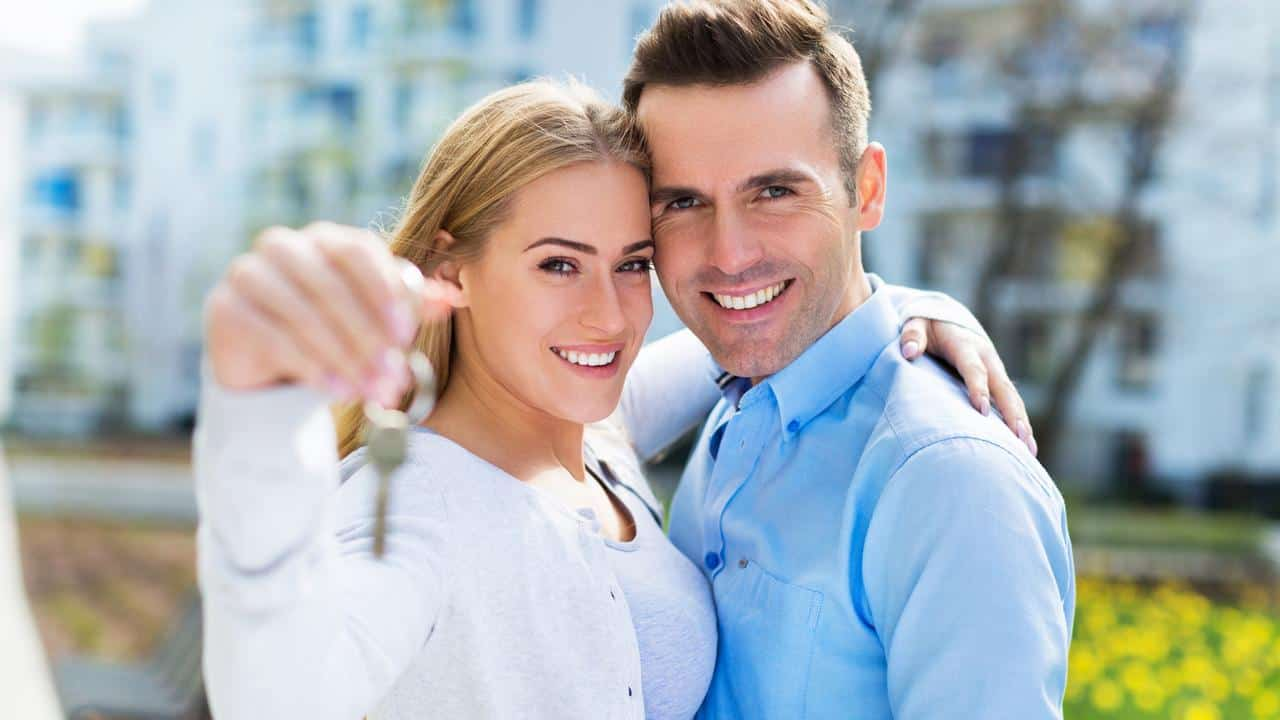 first home buyers with new property
