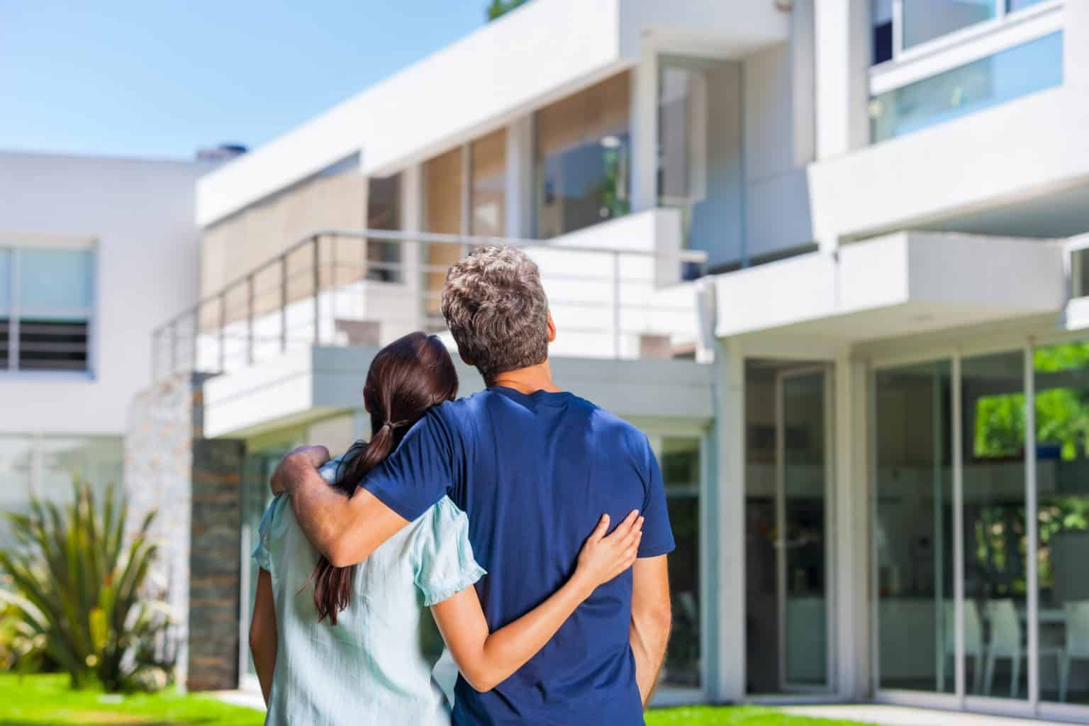 Home Owners looking at property