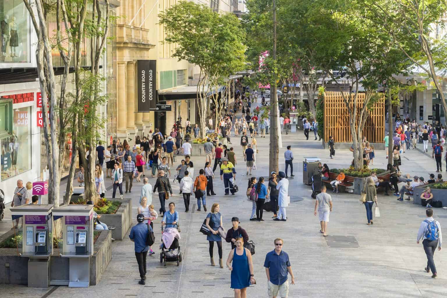 retail and commercial tenants, Brisbane