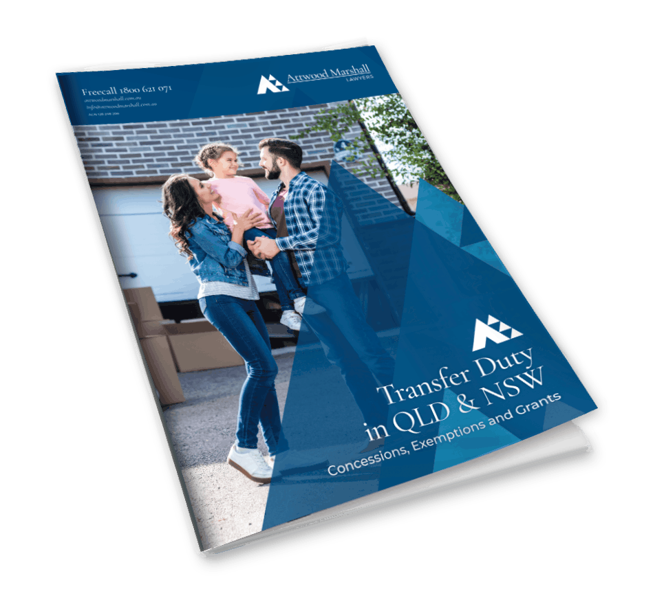 stamp duty concessions brochure