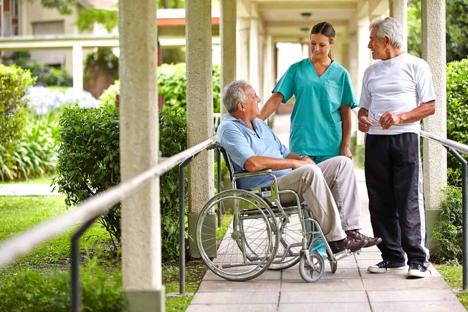 residents at residential aged care facility