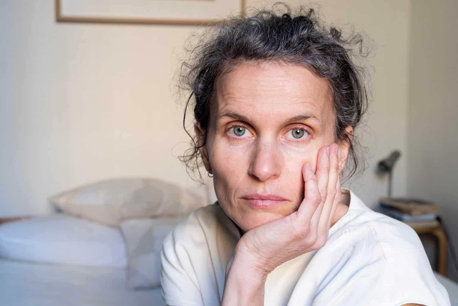 middle age woman - abuse survivor