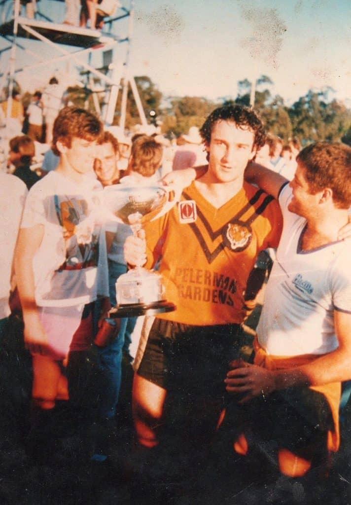 Jeff Garrett Rugby League