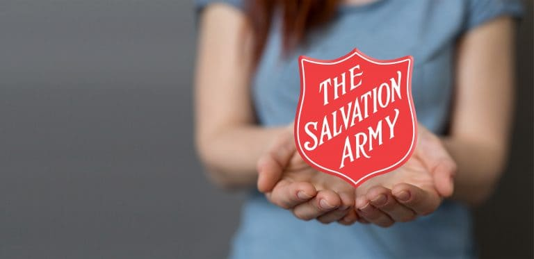 the salvation army is one of the charities who have joined with the Include a Charity Week initiative